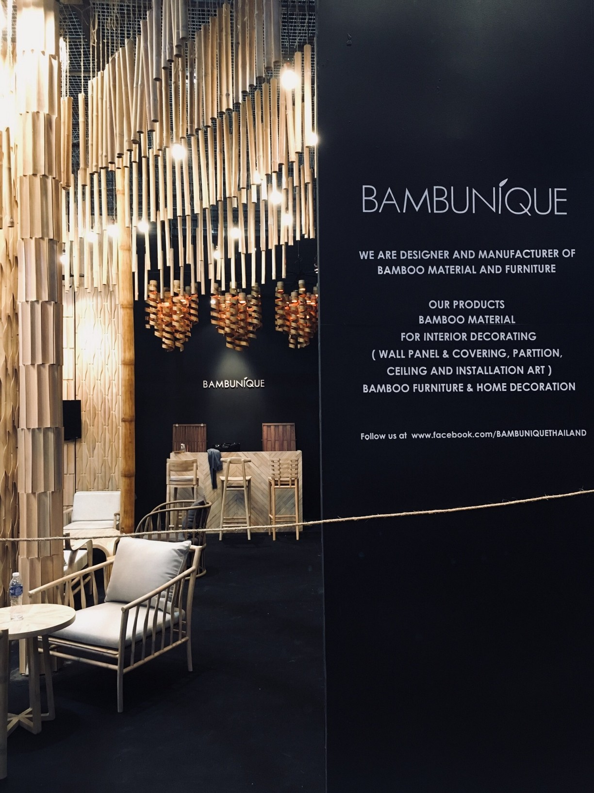 Bambunique - Architect Expo 2018 Bangkok